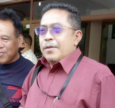 Koordinator Jaksa Komisi Pemberantasan Korupsi Haerudin