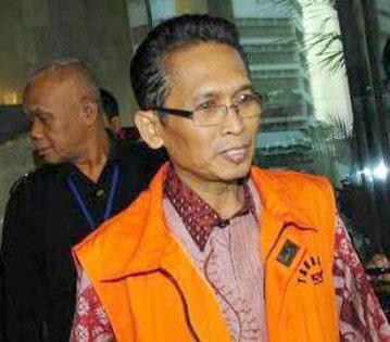 Setyabudi Tejocahyono menerima suap Rp 150 juta terkait kasus suap bantuan sosial bansos di Bandung