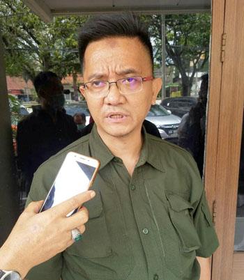 Penasihat Hukum Dadang Suganda Anwar Djamaludin SH MH. FOTODRY