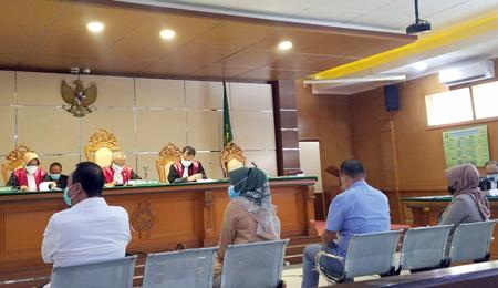 Suasana Sidang RTH Kota Bandung Selasa 09022021 di PN Tipikor Bandung Jalan LL RE Martadinata. FotoDRY Copy
