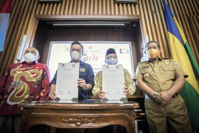 Tri Dharma Perguruan Tinggi Keluarga PWI Kota Bandung Bisa Kuliah Gratis di USB YPKP dan STAIPI Persis 5