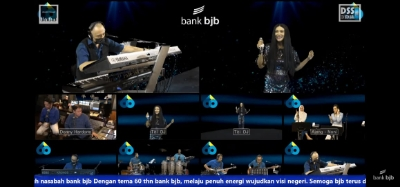 Nostalgia Musik 90 an dalam Konser 7 bank bjb