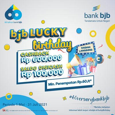 bjb 60versary Lucky Birthday Tawarkan Hadiah Jutaan Rupiah Ayo Ikuti Promonya 1