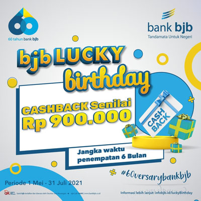 bjb 60versary Lucky Birthday Tawarkan Hadiah Jutaan Rupiah Ayo Ikuti Promonya 2