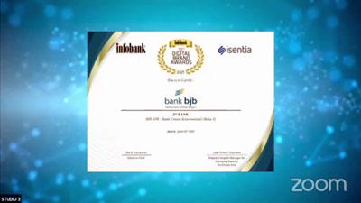 Ekspansi bjb KPR Didapuk Dengan Penghargaan Infobank 3