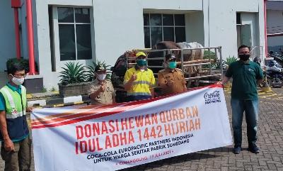 Idul Adha 1442H CCEP Indonesia Berkurban di Seki
