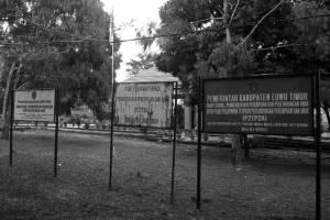 Kantor Pusat Pelayanan Terpadu Pemberdayaan Perempuan dan Anak, Dinas Sosial Luwu Timur. (Project M/Eko Rusdianto)